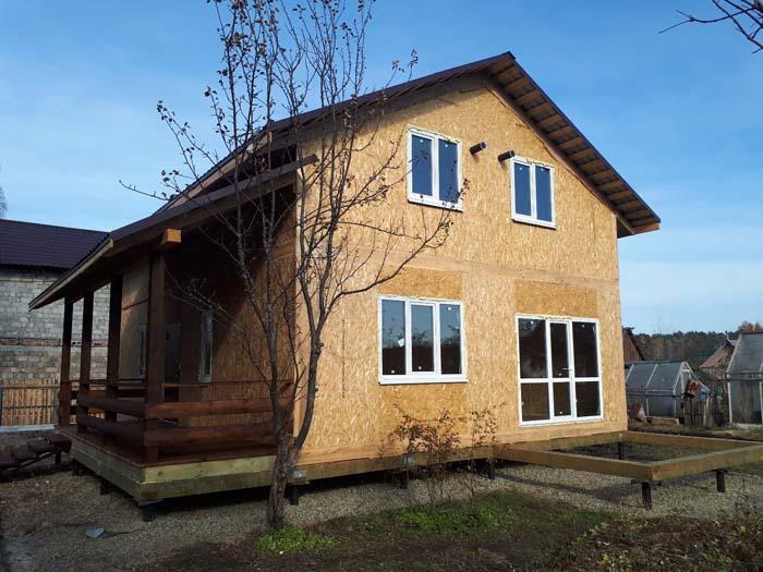 Дом из сип панелей Екатеринбург